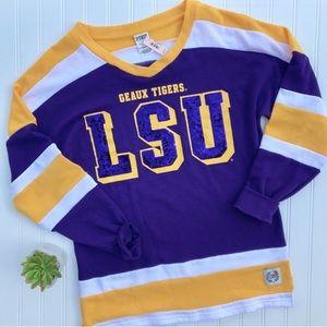 PINK Victoria's Secret Tops - •VS PINK• Louisiana State University sweatshirt